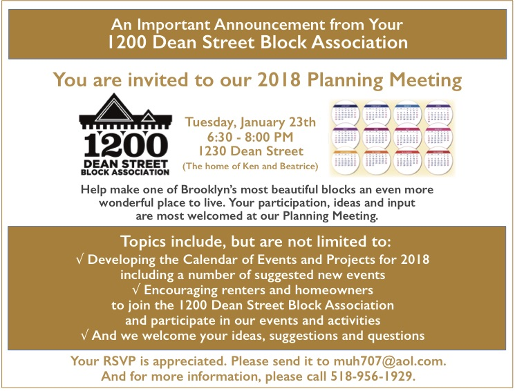 You are invted to our planning meeting
